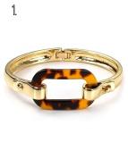 Lauren Ralph Lauren Tortoise Shell Link Bangle Bracelet