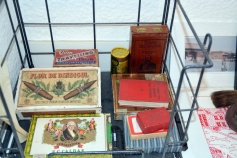 My collectioon of vintage cigar boxes