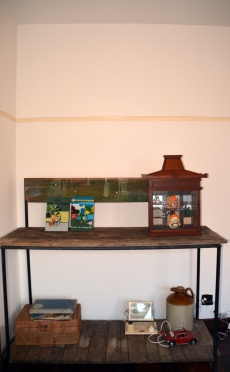 Nursery potting table ,from the Woodstock co-op.