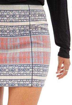 FOREVER21 -Desert sands skirt