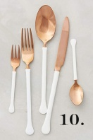 Copper Top Flatware, $79 Anthropologie .com