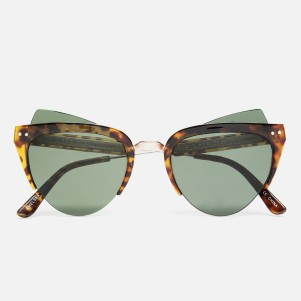 Chelsea MOD Acetate R289.00. Spitfire Inspired by a classic 50s silhouette, these tortoiseshell sunglasses are given a fun, modern feel thanks to the extended lenses and incomplete frames. They're also distortion free and 100% UVA/UVB protected.