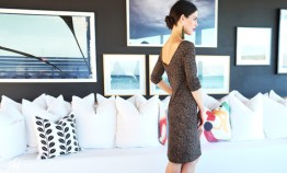 Leopard print Marilyn dress