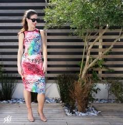 Tessa Dress, Bold Print