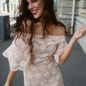 Pink Party Dressing